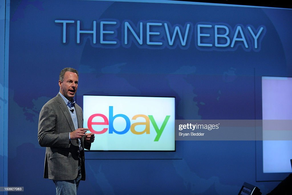 eBay President Devin Wenig introduces the new eBay Ð a personal, global and mobile marketplace on October 10, 2012 in New York City.