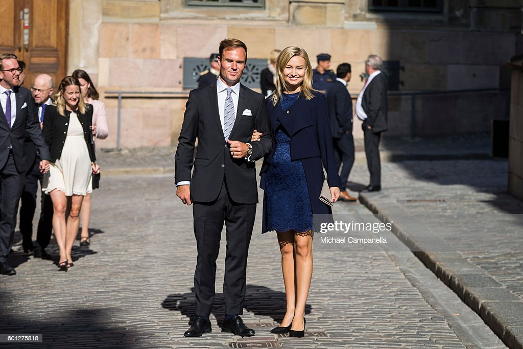 Swedish Royals Attend the Worship At The Church