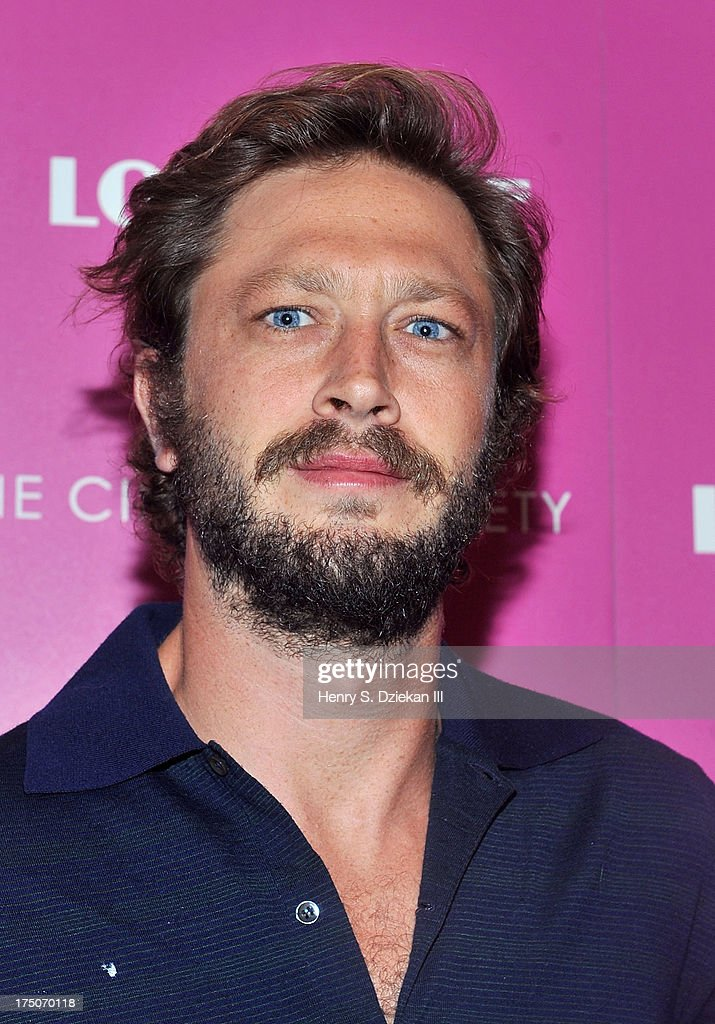 Ebon Moss attends The Cinema Society and MCM with Grey Goose screening of Radius TWC's 'Lovelace' at Museum of Modern Art on July 30, 2013 in New York City.