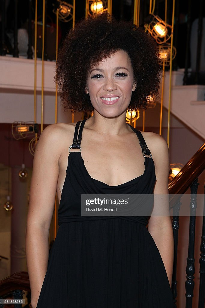 Ebony Molina attends the press night after party for 'Jekyll Hyde' at The Old Vic Theatre on May 25 2016 in London England