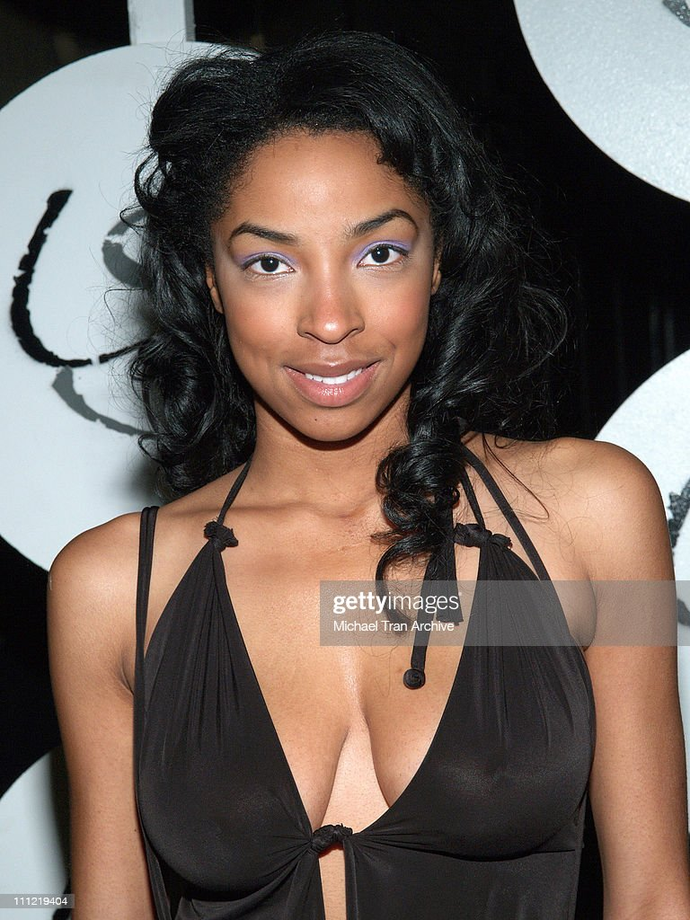 Ebony Taylor during Mercedes-Benz Fall 2006 L.A. Fashion Week at Smashbox Studios - Uriel Saenz - After Party at Spider Club in Hollywood, California, United States.