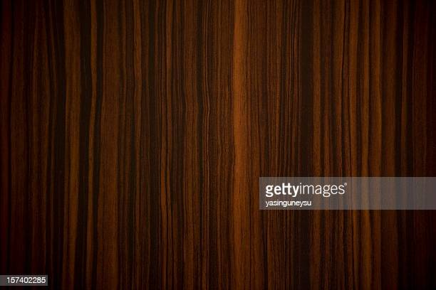 Ebony wood background with vertical stripes
