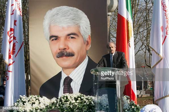 Ebrahim Abrishamchi during Funeral MohammadAli Jaberzadeh NCRI in Paris France on 18 February 2017 MohammadAli Jaberzadeh one of the most seasoned...
