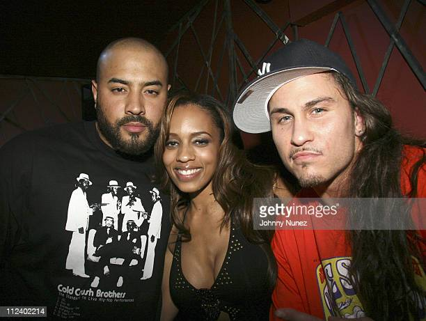 Ebro Melyssa Ford and Avery Storm during Enyce 10Year Anniversary Gala at Next in New York