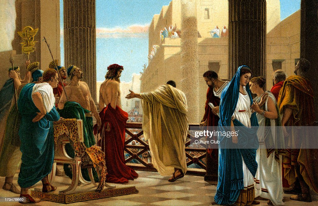 sentenced to death pontius pilate essay It wasn't pilate who wanted to accuse christ he gave the people a choice: they could let christ go and crucify a murderer, barabbas, or they could.