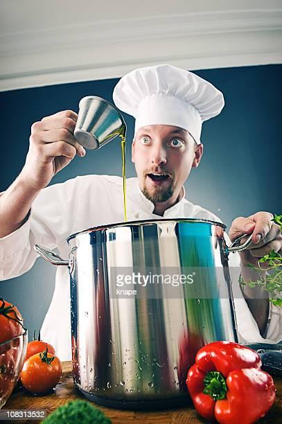 Eccentric chef