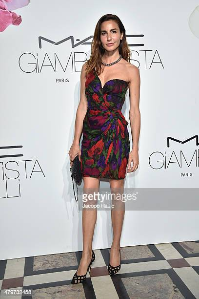 Ece Sukan attends MAC Cosmetics Giambattista Valli Floral Obsession Ball In Paris at Opera Garnier on July 6 2015 in Paris France