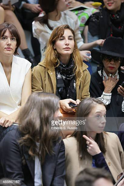Ece Sukan attends the Marni Show as part of Milan Fashion Week Womenswear Spring/Summer 2015 on September 21 2014 in Milan Italy