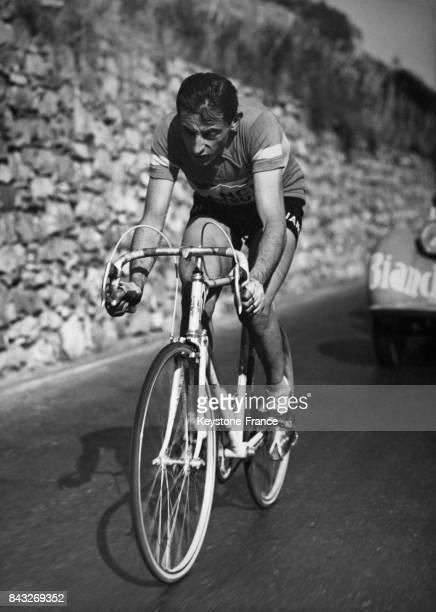 Echappée de Fausto Coppi en Italie