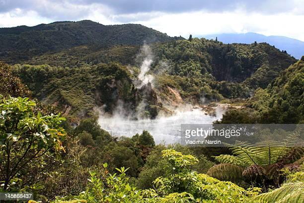Echo crater in Waimangu