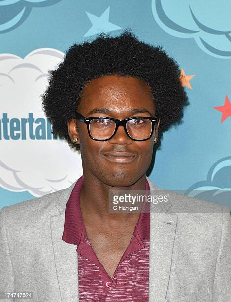 Echo Kellum arrives at Entertainment Weekly's Annual ComicCon Celebration at Float at Hard Rock Hotel San Diego on July 20 2013 in San Diego...