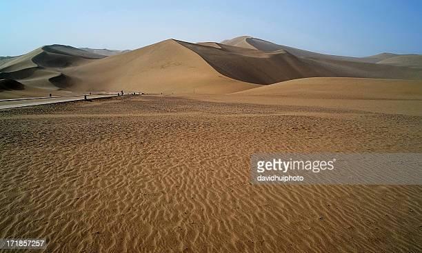 Echoing, Sand Mountain, Dunhuang, China