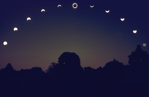 Eclipse in sequence