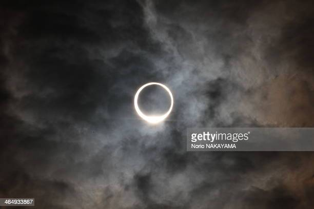 eclipse of the sun like ring