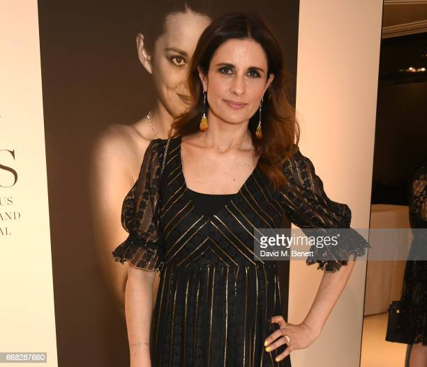 EcoAge founder Livia Firth attends as Vogue Chopard open Glittering Prizes a photo exhibition by Ivan Shaw celebrating 70 years of the red carpet at...