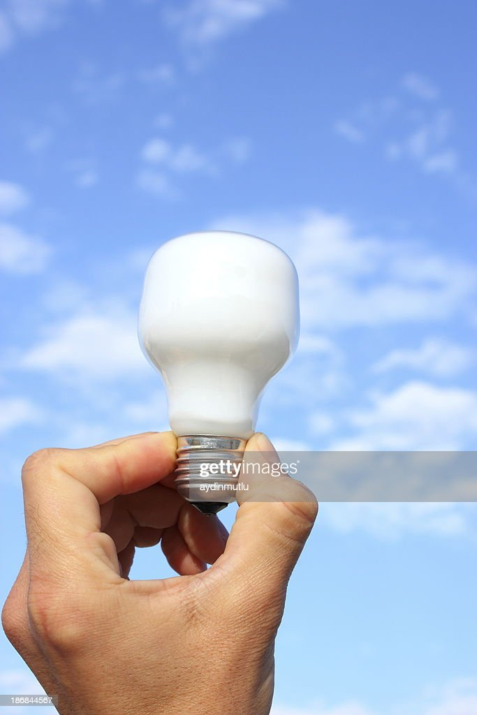 Ecofriendly Light Bulb Stock Photo Getty Images