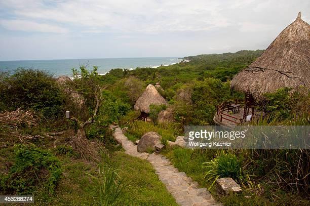 Ecohabs Resort in Tayrona National Park near Santa Marta Colombia