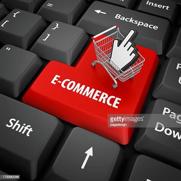 e-commerce Eingabetaste