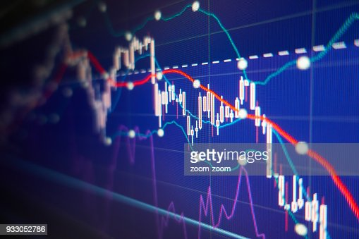 Economic crisis - Financial and business background : Stock Photo