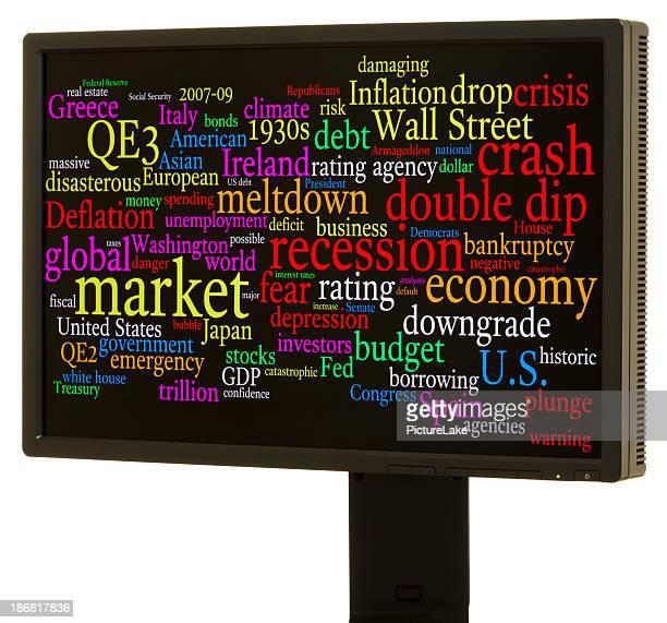 Economic crisis word cloud