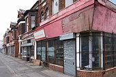'Economic depression, closed shops'