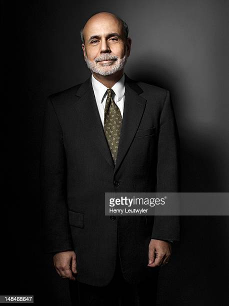 Economist and chairman of the Federal Reserve Bank Ben Bernanke is photographed for The Atlantic on January 30 2012 in Washington DC PUBLISHED COVER