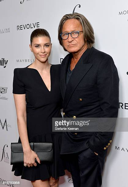 Economist Mohammed Hadid and Shiva Safai attend The Daily Front Row 'Fashion Los Angeles Awards' 2016 at Sunset Tower Hotel on March 20 2016 in West...