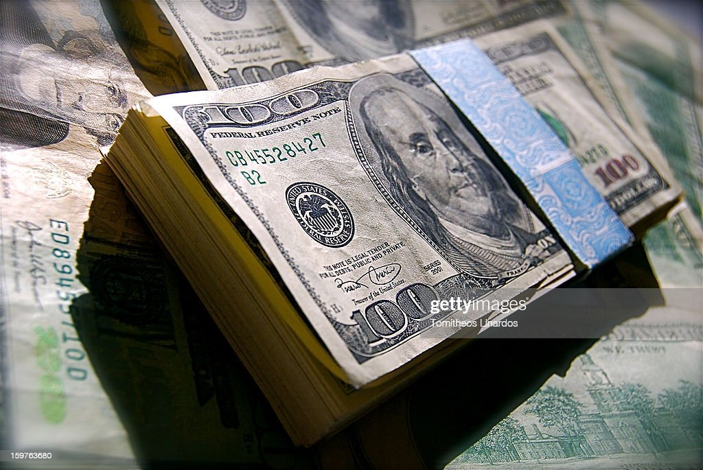 CONTENT] Economy, Business, Finance, United States of America, Cash, Money, $100, Dollar Bills, Benjamin Franklin.