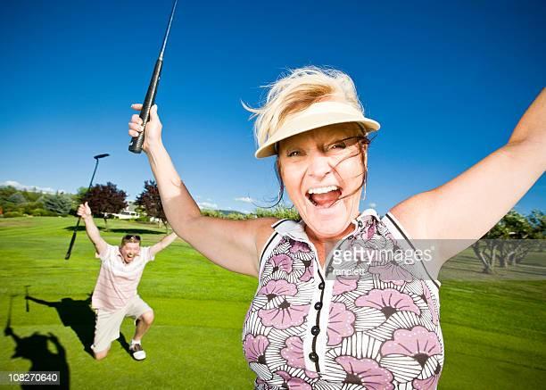 有頂天カップルのゴルフコース