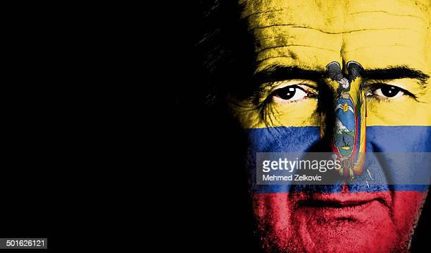 Ecuador Football Supporter