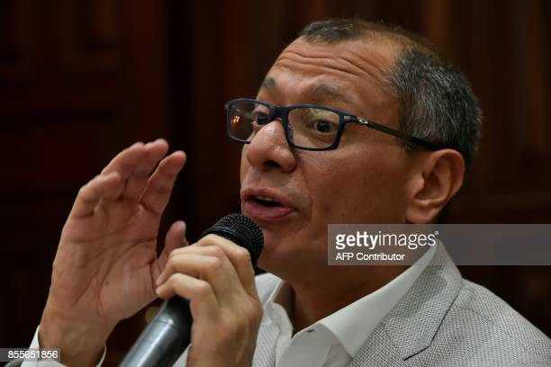 Ecuadorean VicePresident Jorge Glas allegedly involved in the sweeping corruption scandal around the Brazilian construction giant Odebrecht offers a...