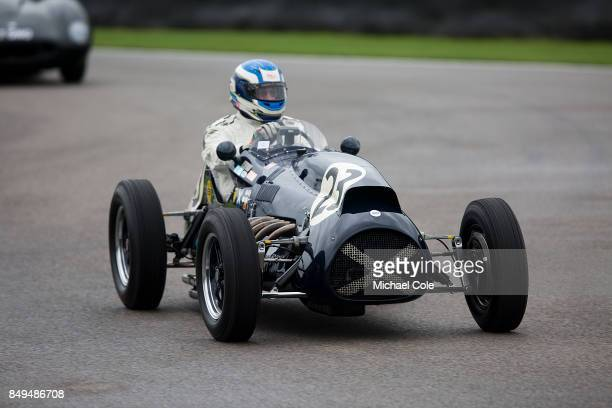 Ecurie Ecosse Cooper single seater racing car during the Ecurie Ecosse Parade at Goodwood on September 8th 2017 in Chichester England