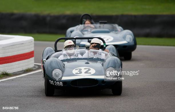 Ecurie Ecosse CooperMonaco Type 57 Mk 2 Sports Racing car during the Ecurie Ecosse Parade at Goodwood on September 8th 2017 in Chichester England