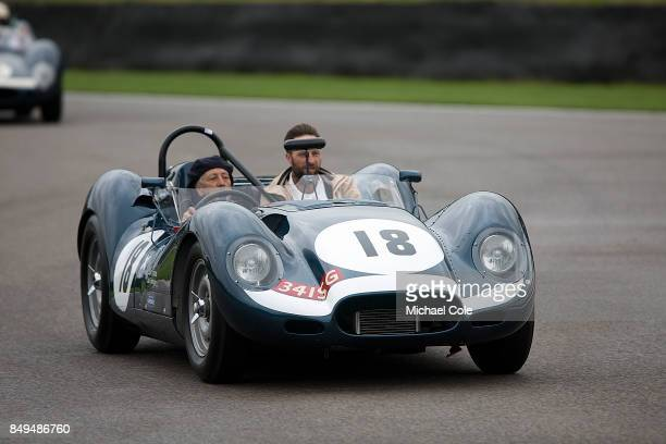 Ecurie Ecosse Lister 'Knobbly' Jaguar during the Ecurie Ecosse Parade at Goodwood on September 8th 2017 in Chichester England