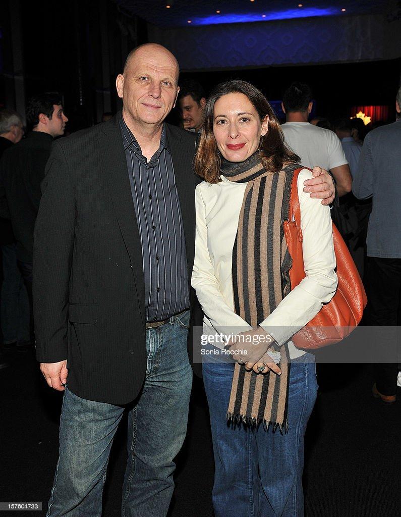 Ed Barreveld and Cornelia Principe attend Canada's Top Ten Announcement/Press Conference at TIFF Bell Lightbox on December 4, 2012 in Toronto, Canada.