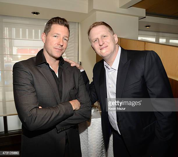 Ed Burns and Michael Rappaport attend the Turner Upfront 2015 at Madison Square Garden on May 13 2015 in New York City 25201_002_KM_0392JPG