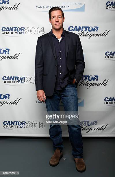 Ed Burns attends Annual Charity Day Hosted By Cantor Fitzgerald And BGC at Cantor Fitzgerald on September 11 2014 in New York City