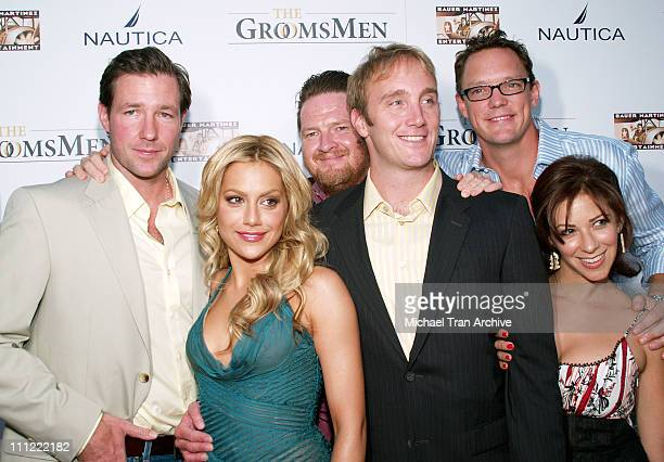 Ed Burns Brittany Murphy Donal Logue Jay Mohr Matthew Lillard and Sherry Albert cast of The GroomsMen