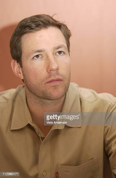 Ed Burns during 'Confidence' Press Conference with Andy Garcia Rachel Weisz and Edward Burns at Beverly Hilton Hotel in Beverly Hills California...