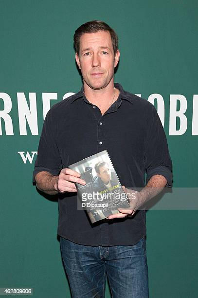 Ed Burns promotes his book 'Independent Ed Inside A Career Of Big Dreams Little Movies And The Twelve Best Days Of My Life' at Barnes Noble Union...