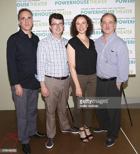 Ed Cheetham Thomas Pearson Johanna Pfaelzer and Mark LinnBaker attend the New York Stage and Film Vassar's 31st Powerhouse Theater Season MeetnGreet...