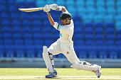 Ed Cowan of Tasmania plays a shot during day three of the Sheffield Shield match between Tasmania and South Australia at Blundstone Arena on December...