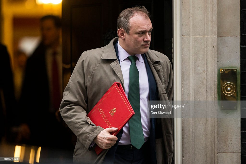 <a gi-track='captionPersonalityLinkClicked' href=/galleries/search?phrase=Ed+Davey&family=editorial&specificpeople=3400519 ng-click='$event.stopPropagation()'>Ed Davey</a>, Secretary of State for Energy and Climate Change, leaves Downing Street after a cabinet meeting on January 6, 2015 in London, England. The cabinet meeting was the first since the Christmas recess.
