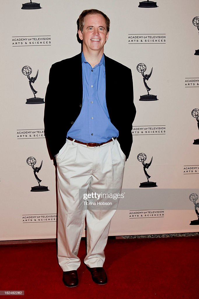 Ed Driscoll attends the 64th primetime Emmy Awards writers' nominee reception at Academy of Television Arts & Sciences on September 20, 2012 in North Hollywood, California.