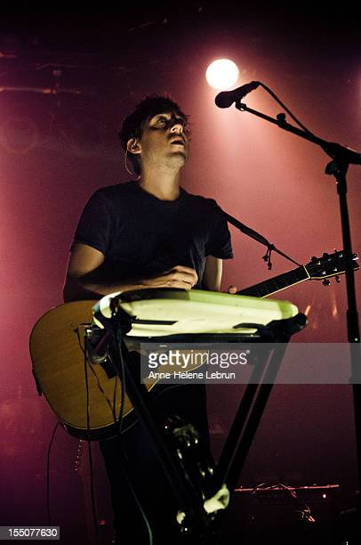Ed Droste of the American band Grizzly Bear performs live during a concert at Astra Kulturhaus on October 31 2012 in Berlin Germany