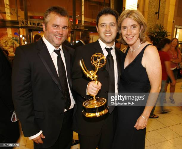 Ed Glavin Andy Lassner and Mary Connelly executive producers winners Outstanding Talk Show for 'The Ellen DeGeneres Show'