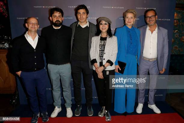 Ed Guiney Lucas Ochoa Paul Negoescu Mabel Cheung Trine Dyrholm and Michel Merkt attend the Tommy Hilfiger VIP Dinner in celebration of the 13th...