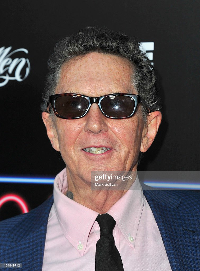 Ed Hardy attends the premiere of 'Tattoo Nation' at ArcLight Cinemas on March 28, 2013 in Hollywood, California.