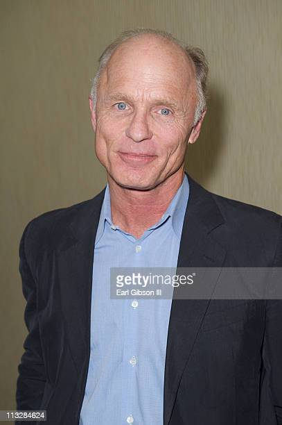 Ed Harris attends the DiDi Hirsch Mental Health Services 14th Annual Erasing the Stigma Leadership Awards Luncheon at The Beverly Hilton hotel on...