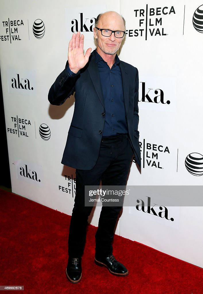 Ed Harris attends the premiere of 'The Adderall Diaries' during the 2015 Tribeca Film Festival at BMCC Tribeca PAC on April 16, 2015 in New York City.